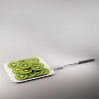 3d kiwi model