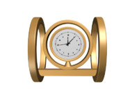 table clock 3ds