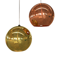 Tom Dixon light Copper