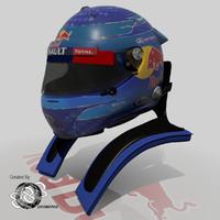 Sebastian Vettel 2013 Helmet