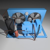 3d model cooling unit