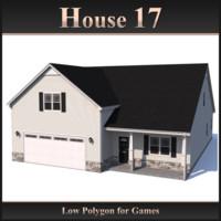 3d house 17 model