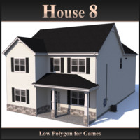 3ds max house 8