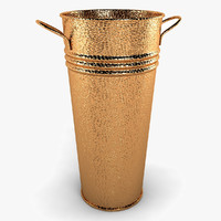 tauba copper vase 3d model