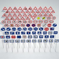 maya traffic signs