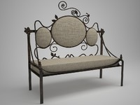 Forged sofa 1