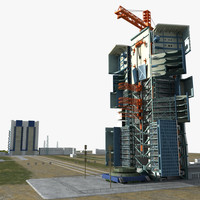 3d model launch jiuquan satellite