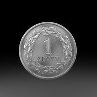 1 zloty coin max