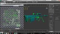 ksvk rifle 3d max