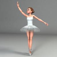 ballerina rigged max