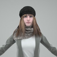 digital double mentalray 3d model