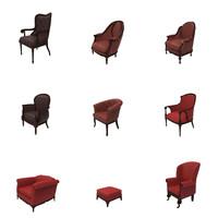 grand chairs fbx