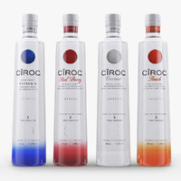 3d model ciroc vodka