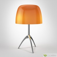 3d lumiere 05 table lamp model