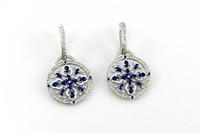 3dm sapphire drops earring gems