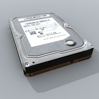 generic internal hdd hard 3d 3ds