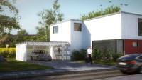 Modern Residential Villa building 2