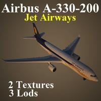 airbus jai 3d model