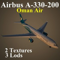 airbus oma 3d model