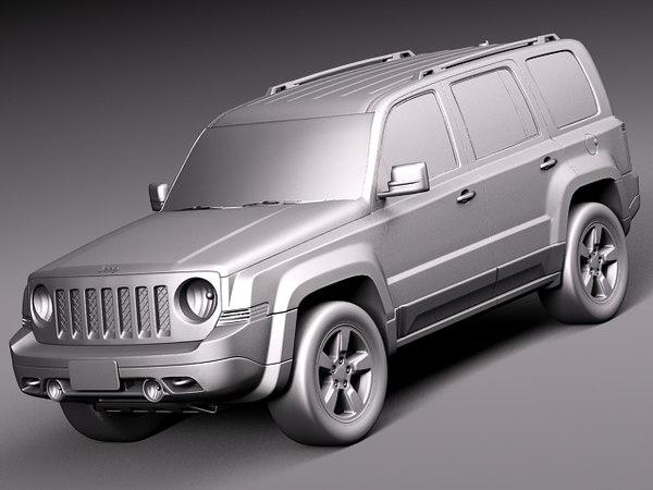 3d model 2014 suv jeep. Black Bedroom Furniture Sets. Home Design Ideas