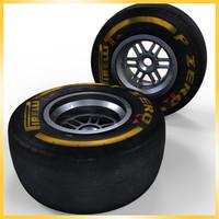 2013 formula 1 pirelli 3d max