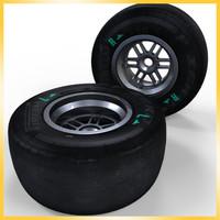 2013 F1 Pirelli tire Hard