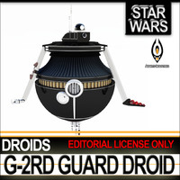 star wars g-2rd guard c4d