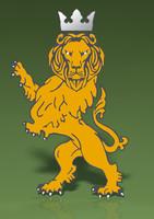 lion decal 3d 3ds