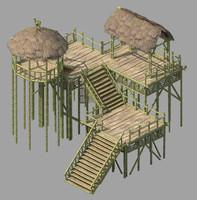 max wooden hut