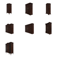3dsmax dresser cabinets