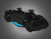 dualshock controller res 3d model