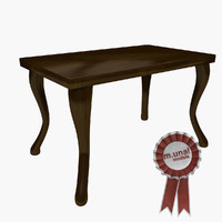 table classic 3d model