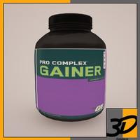 3d max pro complex gainer