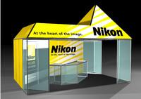 3d model exposition nikon