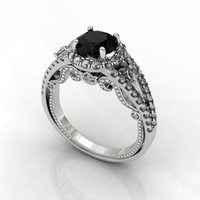 Creative Pave Ring