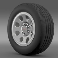 gmc yukon police wheel 3d 3ds