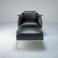 3d archibald chair model