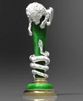 maya lion snake