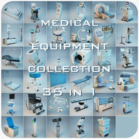 Medical Equipment Collection 35 in 1