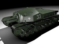 3d model ii assault gun zrinyi