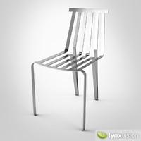 monte christo chair 3d max