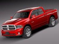 Dodge Ram 2013 Crew Cab Sport
