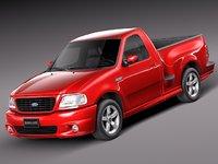 v8 sport 1999 pickup 3d model