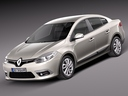 Renault fluence 3D models