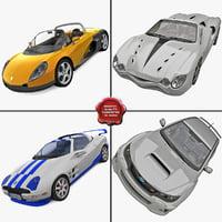 3d model sport cars 3