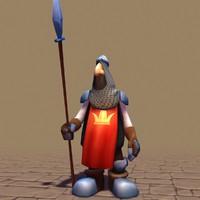 3dsmax rigged character