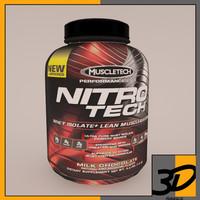 3d model nitro tech