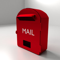 mail box mailbox 3d 3ds