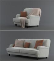 3d model orson sofa