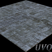 stone pavement 3d max